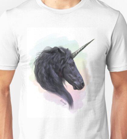 Sassy Dark Unicorn (Rainbows & Sparkles included!) Unisex T-Shirt