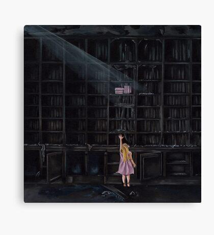 The Reader Canvas Print