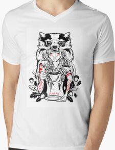 Native English Girl Mens V-Neck T-Shirt