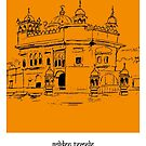 Sketches of India - Golden Temple by springwoodbooks