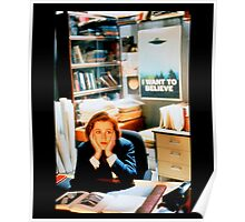 DANA SCULLY x files Poster