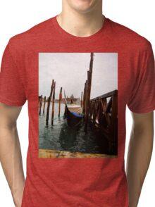 Beautiful venice cityscape. Tri-blend T-Shirt