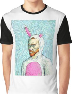 Van Gogh bunny costume Graphic T-Shirt