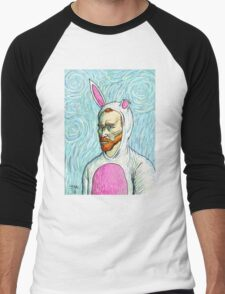 Van Gogh bunny costume Men's Baseball ¾ T-Shirt