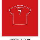 Eric Cantona - Football Legend by springwoodbooks