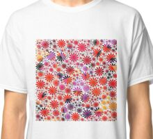 Lovely floral shapes Classic T-Shirt