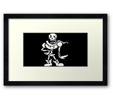 Papyrus Undertale Framed Print