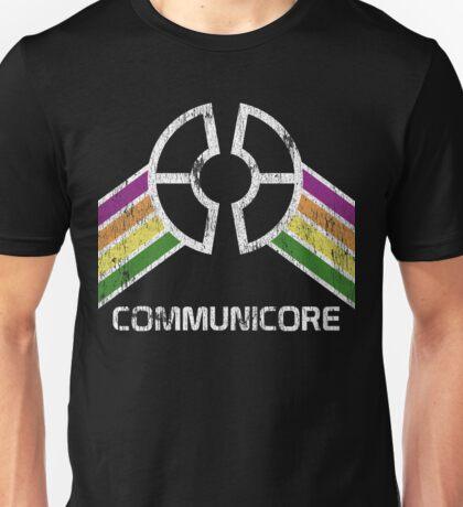 Communicore Logo in Vintage Distressed Style Unisex T-Shirt