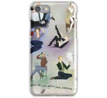 Supernatural pin-up iPhone Case/Skin