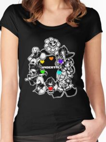 Undertale Funny Women's Fitted Scoop T-Shirt