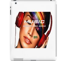 Music Sounds So Good  iPad Case/Skin
