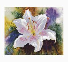 "Lily ""Muscadet"" (Lilium Orientalis Muscadet) Kids Tee"