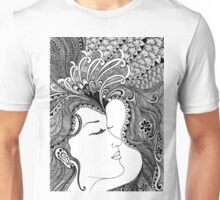 women bw Unisex T-Shirt