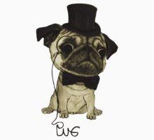 Pug; gentle pug. Baby Tee
