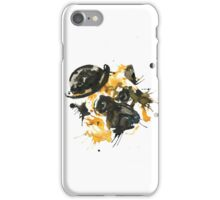 Pug With A Bowler Hat iPhone Case/Skin