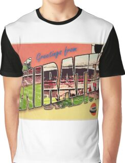 Greetings from The Emirates Stadium (Arsenal FC) Graphic T-Shirt