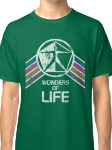 Wonders of Life Logo in Vintage Distressed Style Classic T-Shirt