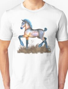 Foal with a spring in his step Unisex T-Shirt