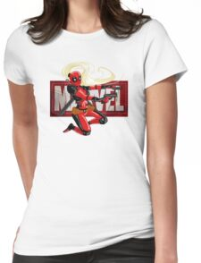 Lady pool Womens Fitted T-Shirt