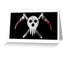 Soul Eater - Shinigami Greeting Card