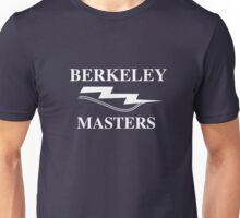 Traditional Berkeley Masters Logo in White Unisex T-Shirt