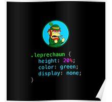 Leprechaun CSS Poster