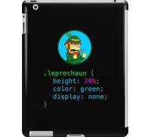 Leprechaun CSS iPad Case/Skin
