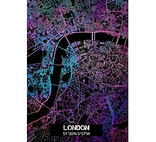 London city map Photographic Print