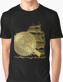 A Nocturnal Voyage At Sea Graphic T-Shirt