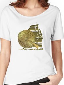 A Nocturnal Voyage At Sea Women's Relaxed Fit T-Shirt