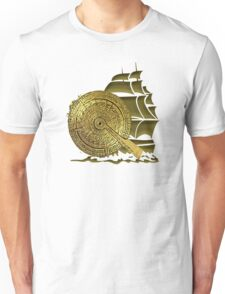 A Nocturnal Voyage At Sea Unisex T-Shirt