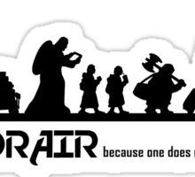 Mordor Air Sticker