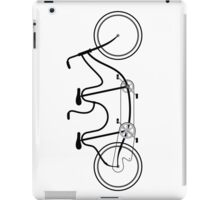 Tandem Bicycle_Camel Back iPad Case/Skin