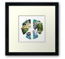 Gaia: Mother Earth Framed Print