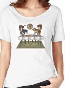 Those Naughty Cats .. Febuary Women's Relaxed Fit T-Shirt