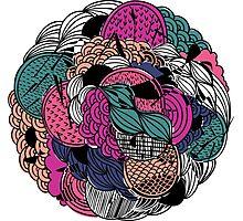 Flower Ball Photographic Print