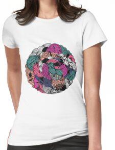 Flower Ball Womens Fitted T-Shirt