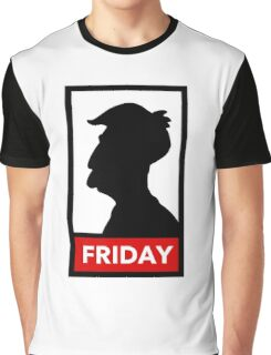 Silhouette Friday Graphic T-Shirt