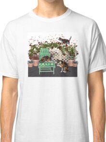 Lazy Days .. June Cats Classic T-Shirt