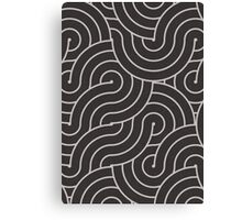 SWIRL / coffee Canvas Print