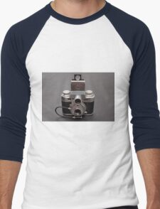 Antique Camera Men's Baseball ¾ T-Shirt