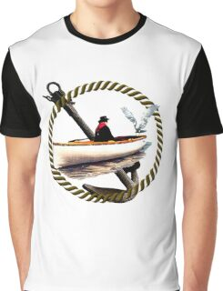 Making Friends At Sea Graphic T-Shirt
