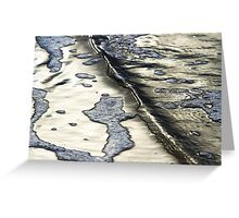 Foam Maps I Greeting Card