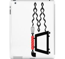 Old telephone, whisk, and oven combined iPad Case/Skin