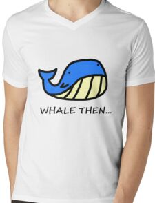 Whale Then... Mens V-Neck T-Shirt