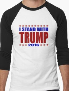 I Stand With Donald Trump Men's Baseball ¾ T-Shirt