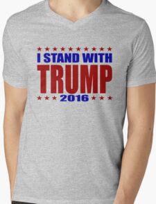 I Stand With Donald Trump Mens V-Neck T-Shirt