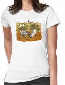 Play Time .. September Cats Womens Fitted T-Shirt