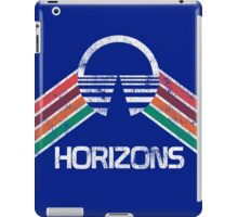 Vintage Horizons Distressed Logo in Vintage Retro Style iPad Case/Skin