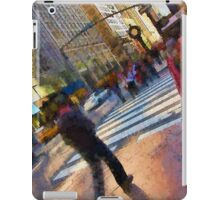 Colorful NYC Street Scene iPad Case/Skin